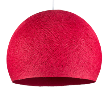 rapsberry pink - Lampshades cupolas - La Case de Cousin Paul