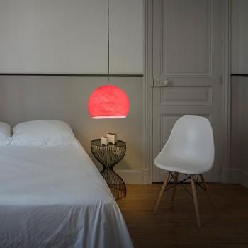 Lampenschirme Einzeln Kuppeln Bonbonrosa - Lampenschirm kuppeln - La Case de Cousin Paul