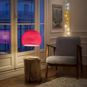 rose - Lampshades cupolas - La Case de Cousin Paul