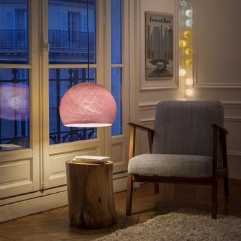 Lampenschirme Einzeln Kuppeln Altrosa - Lampenschirm kuppeln - La Case de Cousin Paul
