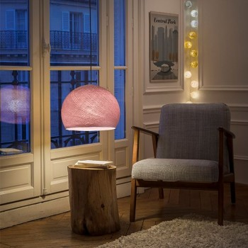 old pink - Lampshades cupolas - La Case de Cousin Paul