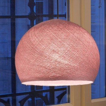 rosa antico - Coprilampada cupole - La Case de Cousin Paul