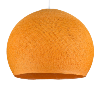 hellorange - Lampenschirm kuppeln - La Case de Cousin Paul