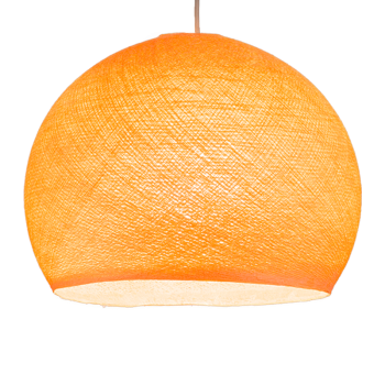 lichtoranje - Lampenkappen Los koepellampen - La Case de Cousin Paul