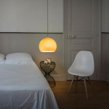 Lampenschirme Einzeln Kuppeln Hellorange - Lampenschirm kuppeln - La Case de Cousin Paul