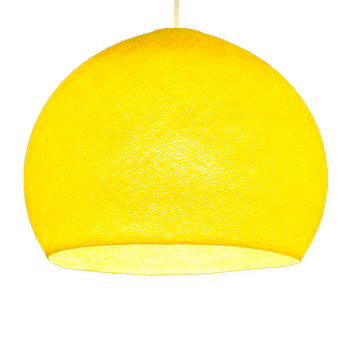 yellow - Lampshades cupolas - La Case de Cousin Paul