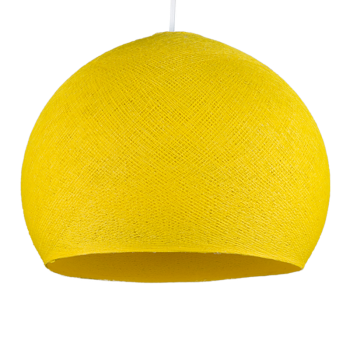 yellow - Lampshades cupolas - La Case de Cousin Paul