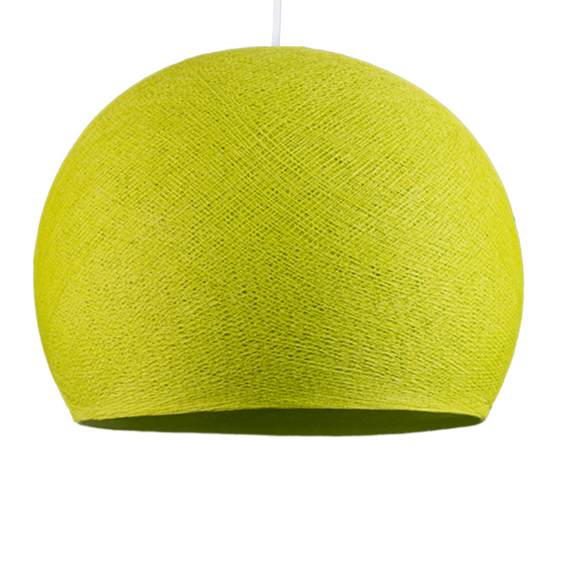 anise green - Lampshades cupolas - La Case de Cousin Paul
