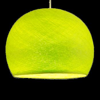 Coupole vert anis allumée