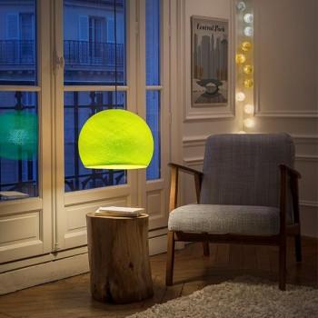 Lampenschirme Einzeln Kuppeln Anisgrün - Lampenschirm kuppeln - La Case de Cousin Paul