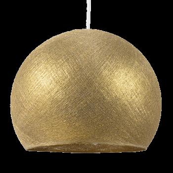Lampenschirme Einzeln Kuppeln Gold - Lampenschirm kuppeln - La Case de Cousin Paul