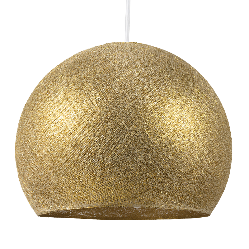 Gold - Lampshades cupolas - La Case de Cousin Paul