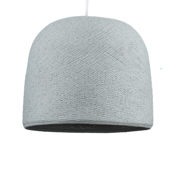 Cloche pearl grey - Lampshades cloche - La Case de Cousin Paul