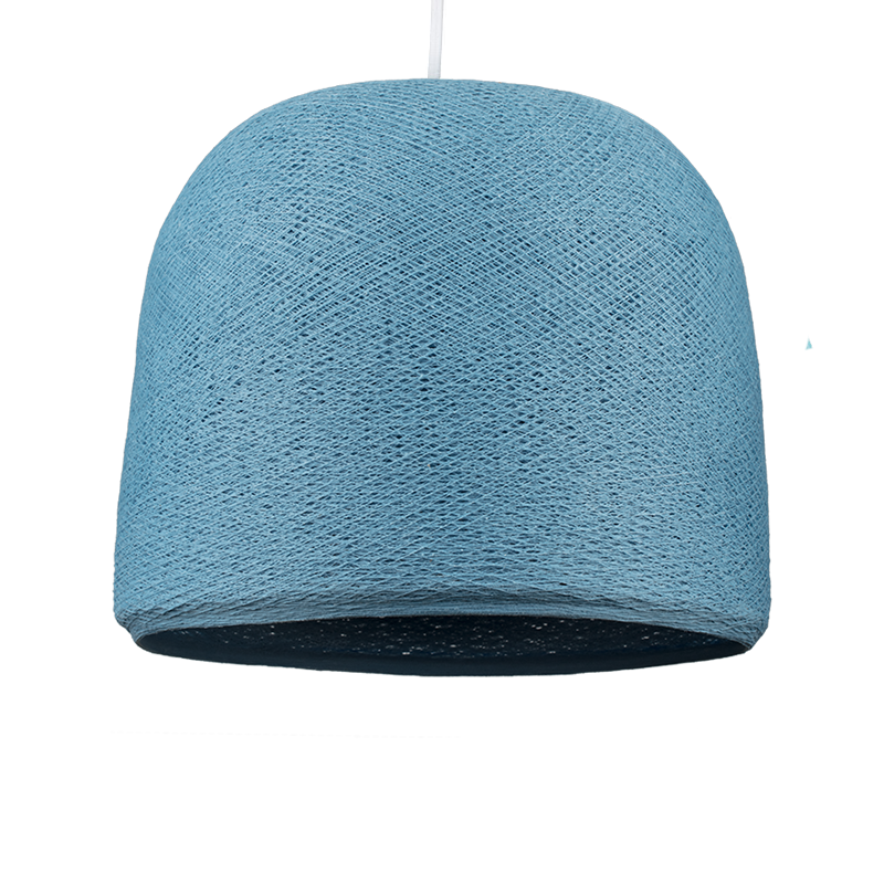 Cloche denim - Coprilampada cloche - La Case de Cousin Paul