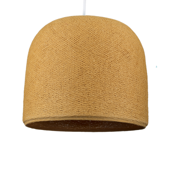 Cloche mustard - Lampshades cloche - La Case de Cousin Paul