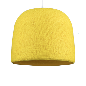 Lampenschirme Einzeln Glocke Gelb - Lampenschirm Glocke - La Case de Cousin Paul