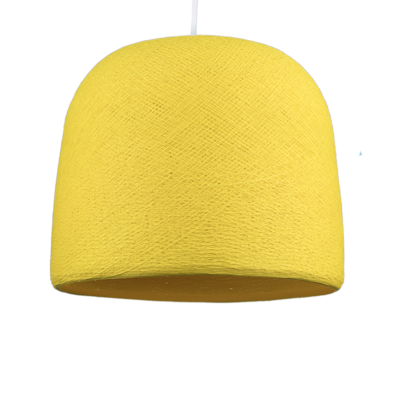 Cloche yellow - Lampshades cloche - La Case de Cousin Paul