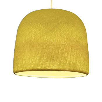 Cloche jaune - Abat-jour cloche - La Case de Cousin Paul