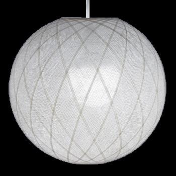 Lampenschirme Einzeln Art Déco Weiβ - Lampenschirm Art déco - La Case de Cousin Paul