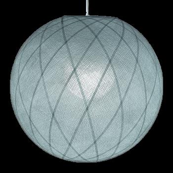 Art déco azuurblauw - Lampenkappen Los Art déco - La Case de Cousin Paul