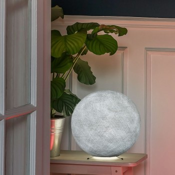 Base per una sfera S grigio perla -  Lampada da tavolo - La Case de Cousin Paul