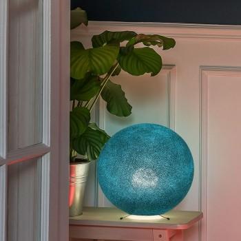 Lampe à poser globe S bleu canard - Lampe à poser - La Case de Cousin Paul
