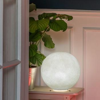 Base per una sfera S avorio -  Lampada da tavolo - La Case de Cousin Paul