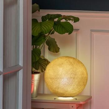 Pie bola S mostaza -  Lámpara de mesa - La Case de Cousin Paul
