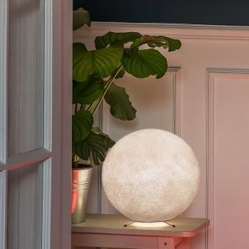 Pie per una sfera S lino -  Lampada da tavolo - La Case de Cousin Paul