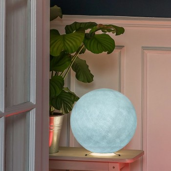 Lampe à poser globe S azur - Lampes à poser - La Case de Cousin Paul