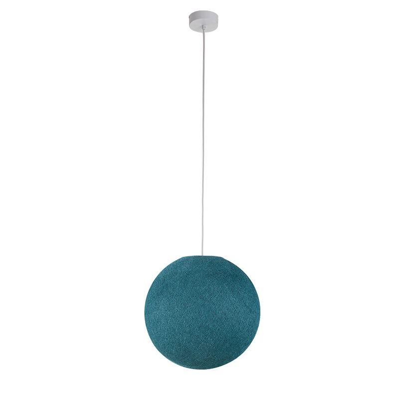 Suspensión simple bola azul pato - Suspensión simple - La Case de Cousin Paul