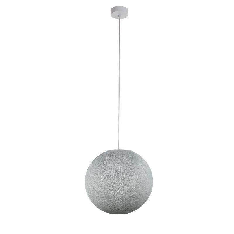 Enkelvoudig ophangsysteem ballamp parelgrijs - Enkelvoudig ophangsysteem - La Case de Cousin Paul