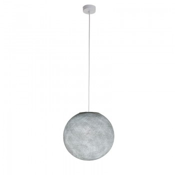Sospensione a una sfera grigio perla - Sospensione semplice - La Case de Cousin Paul