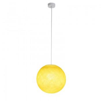 Enkelvoudig ophangsysteem ballamp geel - Enkelvoudig ophangsysteem - La Case de Cousin Paul