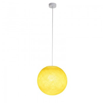 Sospensione a una sfera giallo - Sospensione semplice - La Case de Cousin Paul