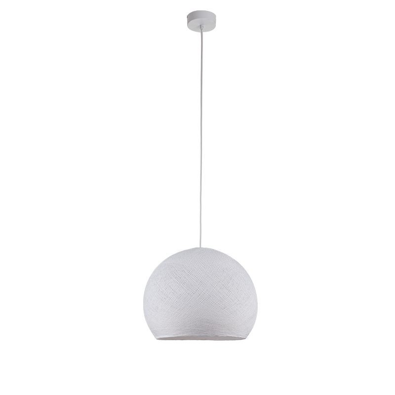 Suspension simple coupole M blanc - Suspension simple - La Case de Cousin Paul