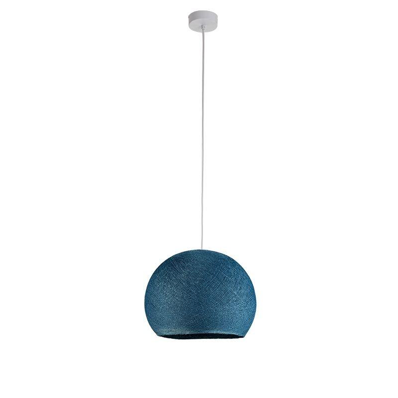 Suspensión simple cúpula azul pato - Suspensión simple - La Case de Cousin Paul