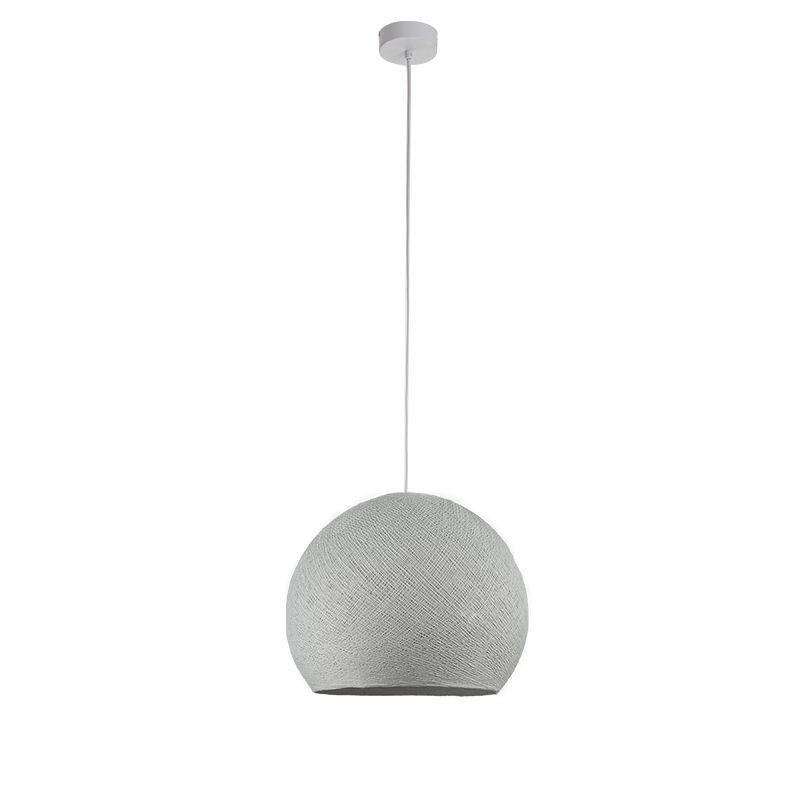 Suspensión simple cúpula gris perla - Suspensión simple - La Case de Cousin Paul
