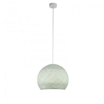 Sospensione a una cupola grigio perla - Sospensione semplice - La Case de Cousin Paul
