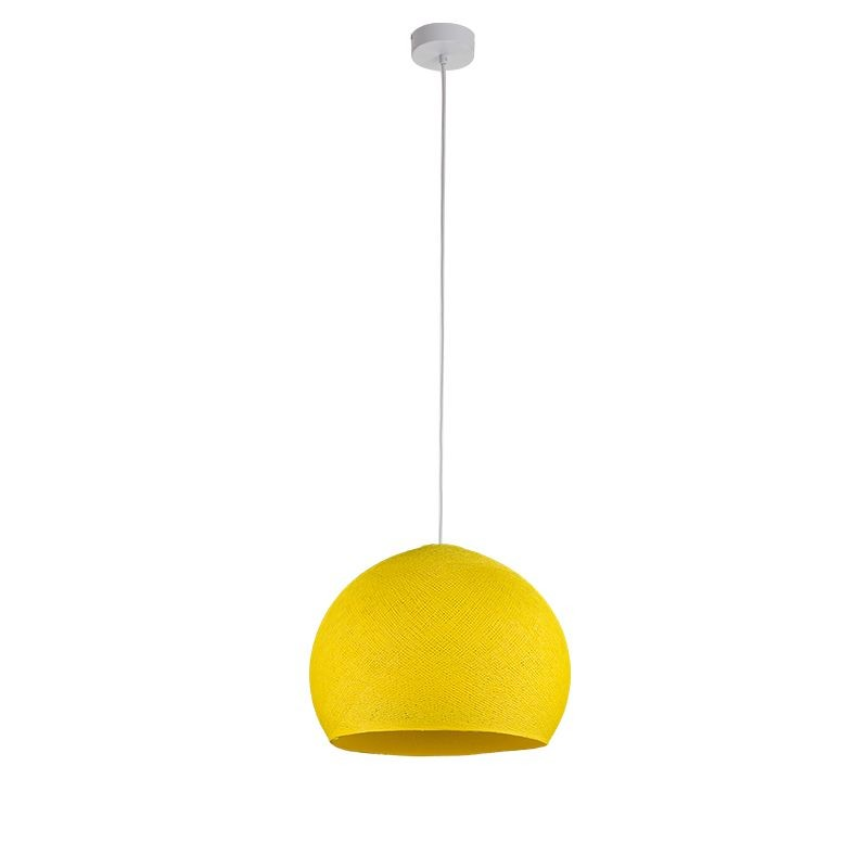 Suspension simple coupole M jaune - Suspension simple - La Case de Cousin Paul