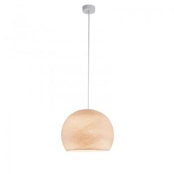 Einfache Aufhängung Kuppel leinen - Einfache Hängelampe - La Case de Cousin Paul