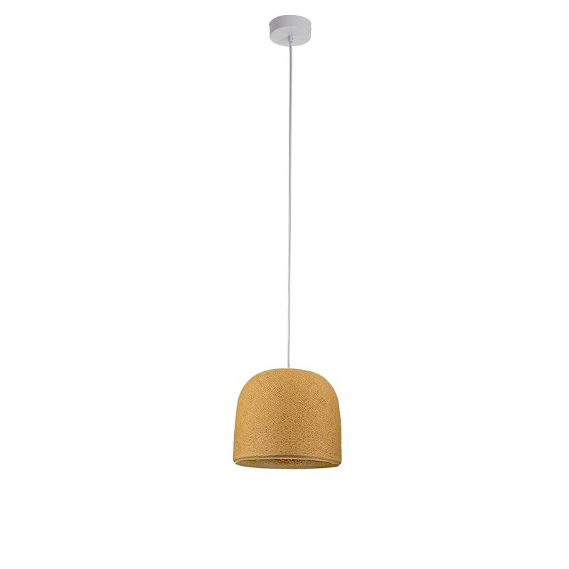 Suspension simple Cloche moutarde - Suspension simple - La Case de Cousin Paul