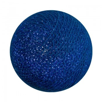 Boule pour guirlande lumineuse bébé LED océan allumée