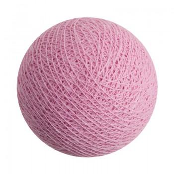 boule pour guirlande veilleuse rose antique - Boules veilleuses bébé - La Case de Cousin Paul