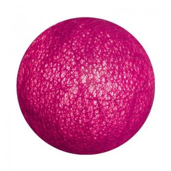 boule pour guirlande veilleuse rose - Boules veilleuses bébé - La Case de Cousin Paul