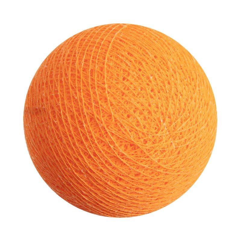 boule pour guirlande veilleuse mandarine - Boules veilleuses bébé - La Case de Cousin Paul