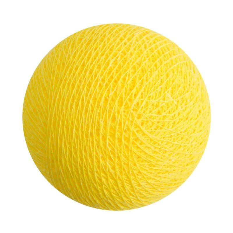 boule pour guirlande veilleuse citron - Boules veilleuses bébé - La Case de Cousin Paul