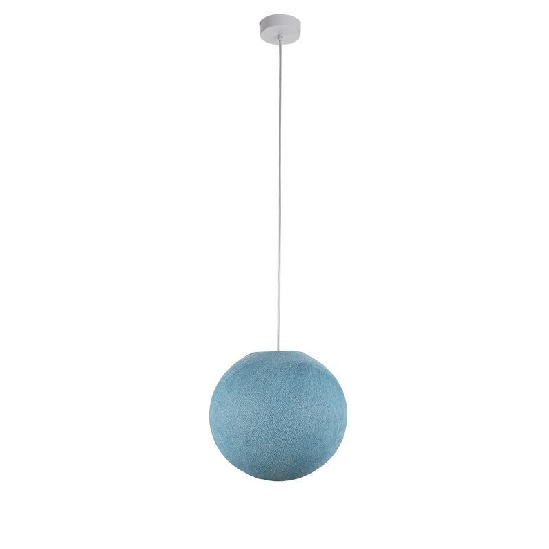 Suspension simple globe S denim - Suspension simple - La Case de Cousin Paul