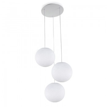 Plafoniera 3 sfere S bianco - Plafoniere 3 - La Case de Cousin Paul