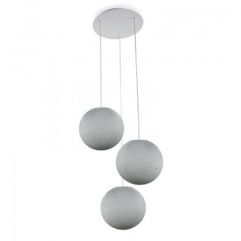 Plafoniera 3 sfere S grigio perla - Plafoniere 3 - La Case de Cousin Paul